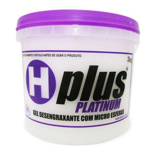 Gel Desengraxante Platinum 3kg Hplus