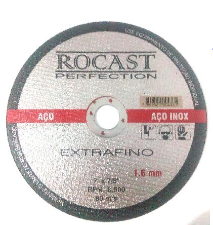 DISCO DE CORTE EXTRA FINO 7 X 71.8 X 1,6